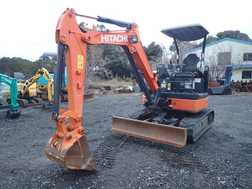 Mini Excavators HITACHI ZX27U-3