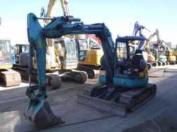 Mini Excavators KUBOTA RX-505