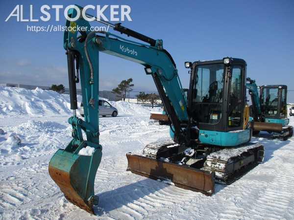 Mini Excavators KUBOTA U40-6
